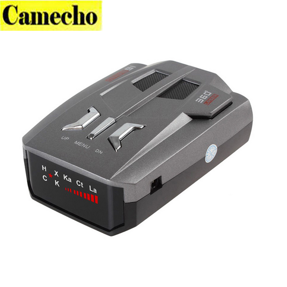 New Traffic Data V9 360 Degree Car Radar Detector 16 Band X K Ka Car-Detector LED Display Auto Laser Security Car Speed Control(China (Mainland))