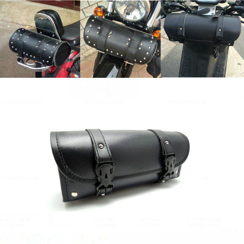 Motorcycle Front Forks Bags Sissy Bar Tool Bags Scooter Handlebar Bags Storage Tool Pouch Luggage Bag(China (Mainland))