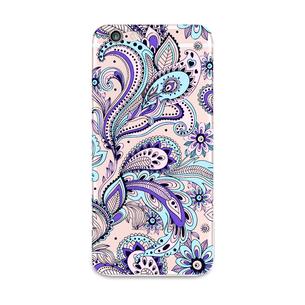 2016 New Vintage Floral Phone SE Case Luxury Brand Cover Elegant Flower TPU Back Skin For Phone 4 4S 5 6 6plus Free Ship(China (Mainland))
