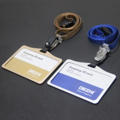 High-grade, card sets, 11 color optional, rose gold, and the longitudinal, badges, hang rope, id card, bus card, durable, labels(China (Mainland))