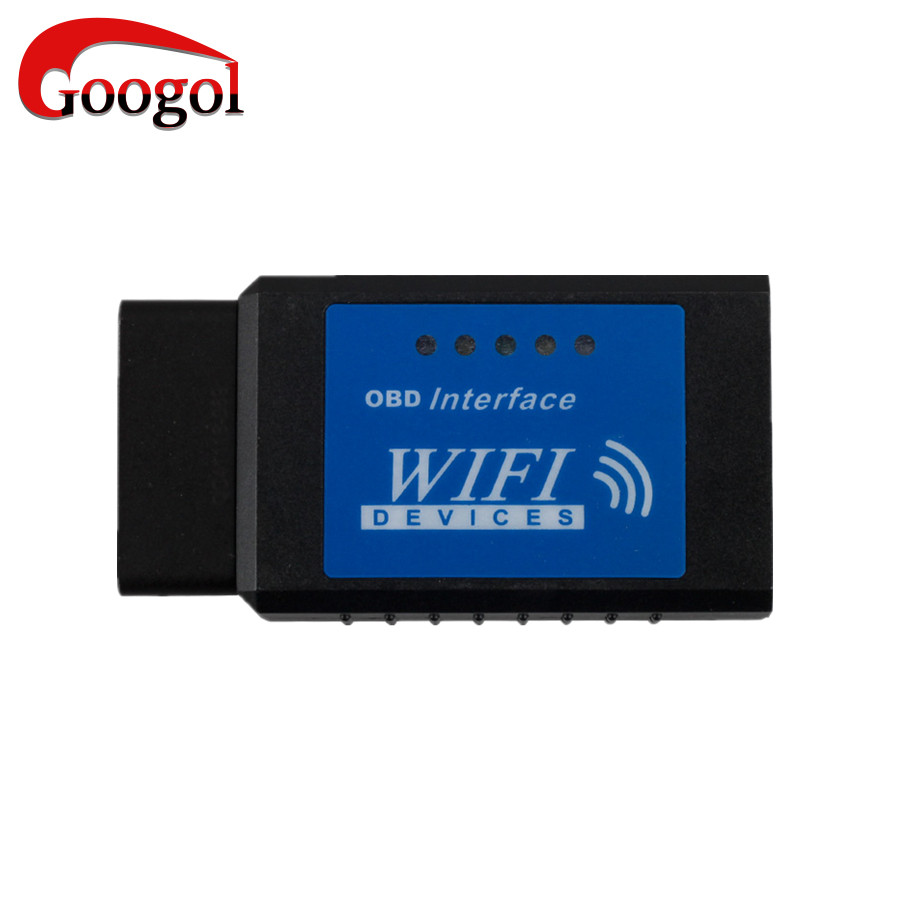 ELM327 OBDII WiFi Diagnostic Wireless Scanner for Apple iPhone Touch ELM 327 WIFI OBD2 Scanner Free Shipping(China (Mainland))
