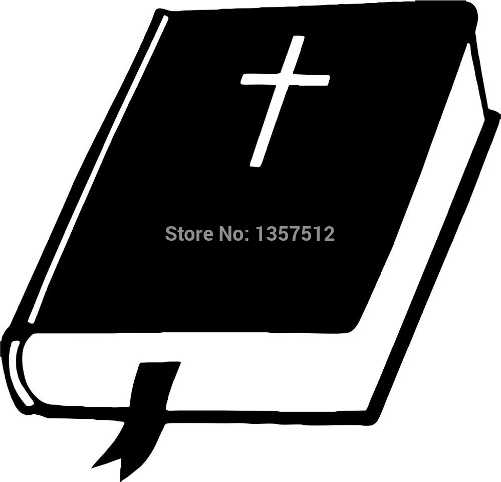 Wholesale 50 pcs/lot Stickers Bible GOD Jesus Christ Christian Car Window Sticker For Truck Bumper Kayak Vinyl Decal 8 Colors