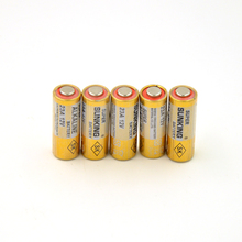 12V 23A 23AE A23 23MN A23 23A Alkaline Dry Battery for Doorbell alarm  remote (5pcs/lot)(China (Mainland))