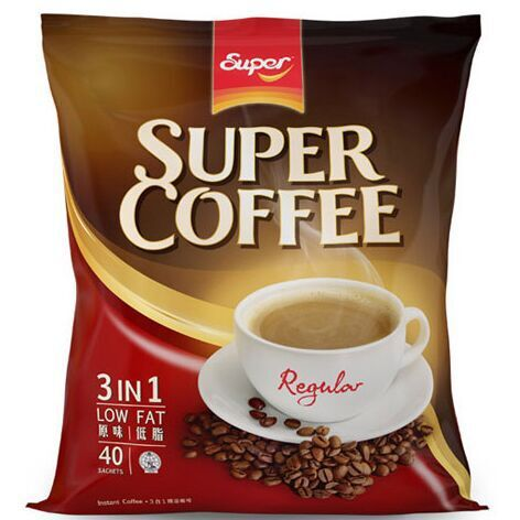 Super super three in flavor of instant coffee 800g 20g 40 bag