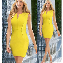 New Vestidos Casual Clothes Dress Sexy Slim Bandage Bodycon Pencil  Dresses Women vestidos para festa Hot Sale OA61