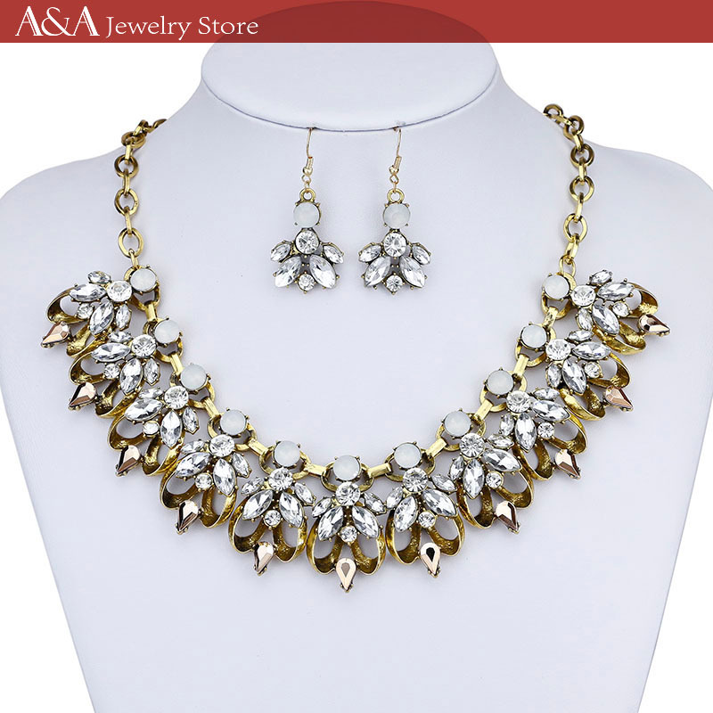 Summer Style Statement Necklaces For Women Gold Stars On Necklaces Link Chains Luxury Necklaces Brand A&A Jewelry(China (Mainland))