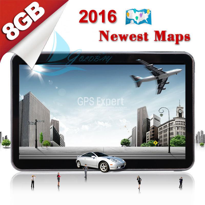"""TOM 5"""" 8GB Car GPS Navigation System Navigator SATNAV TOM FM POI Free UK EU Maps(China (Mainland))"""