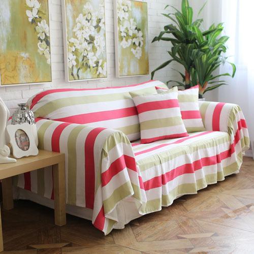 Modern style colorful striped decorative sofa cover - Fundas cojines sofa ...