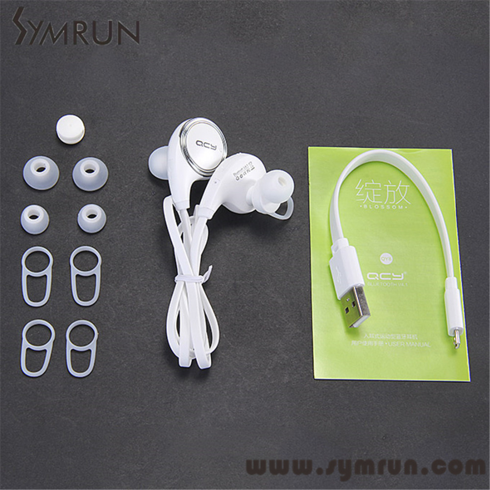 Symrun Symrun Qy8 Sport Bluetooth Headset In-Ear Wireless Stereo Music Earphone Hands-Free Qy8 Qcy Bluetooth(China (Mainland))