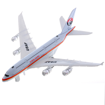 Mz toys alloy model alloy WARRIOR acoustooptical airliner model a380