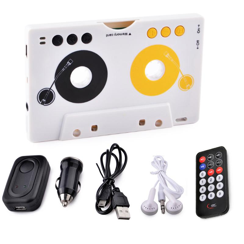 Лента Aux кассета SD MMC