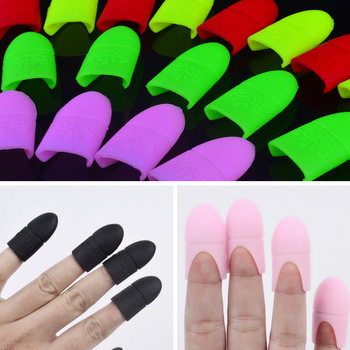 YZWLE 5pcs/set UV Gel Polish Remover Wraps Silicone Soak Off Cap Clip Nails Nail Art Tools