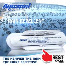 2Pcs/lot AQUAPEL Windshield Glass Water Rain Repellent TREATMENT APPLICATIONS Repels Free Shipping(China (Mainland))