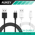 Aukey 6 6ft 2m Micro USB Cable Universal Quick Charge Cable Charging Adapter for Samsung galaxy