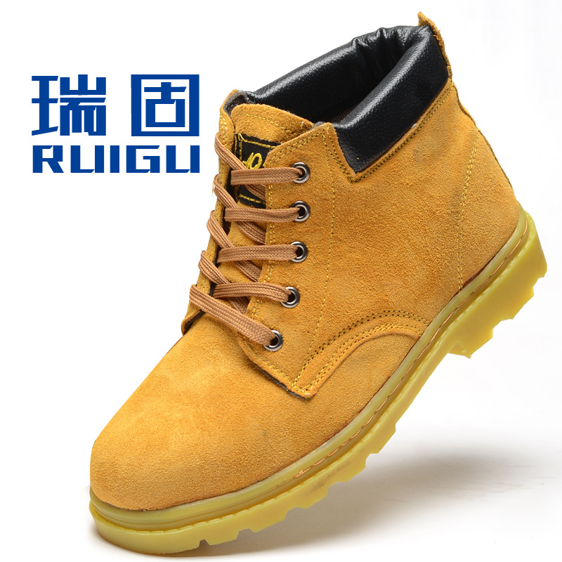 Womens Fashion Steel Toe Boots With Popular Photo In