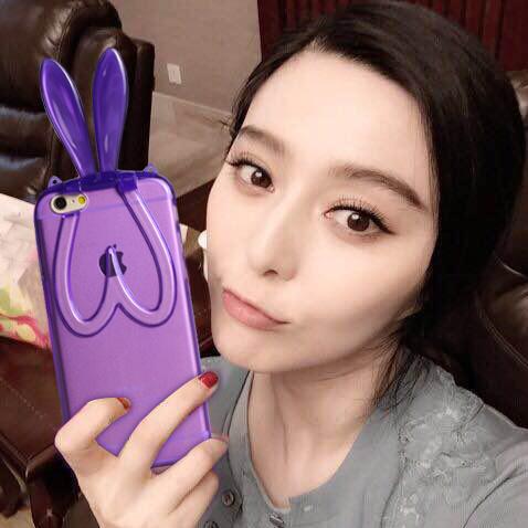 Здесь можно купить  3D Rabbit Ears Transparent Soft TPU Case For Huawei Honor 6 Novelty Phone Cover For Huawei Honor 4x Honor 6plus With Stand Chain  Телефоны и Телекоммуникации
