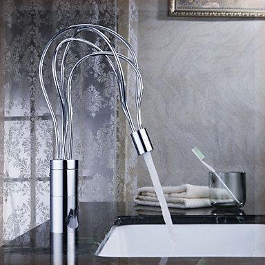 Гаджет  Freeshipping B&R Fashion Luxury kitchen sink Brass Chromed single handle single hole swivel the mixer for kitchen S-166 basin None Строительство и Недвижимость