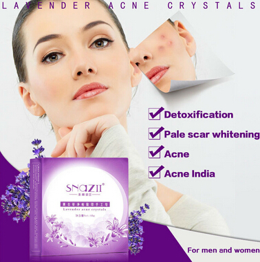 100%Genuine SnazII free shipping Repair Acne handmade soap scar face soap bath whitening acne,face care jabones(China (Mainland))