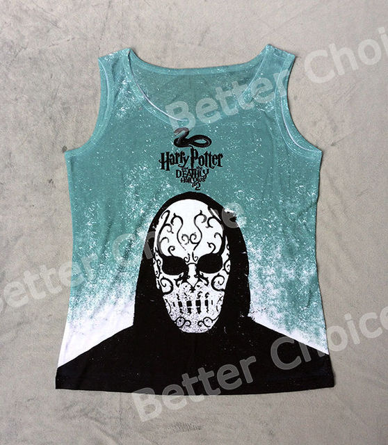Track SТаз+Vintage Жилет Tanks Tank Верхs Camis Movie Harry Potter Deathly Hallows ...