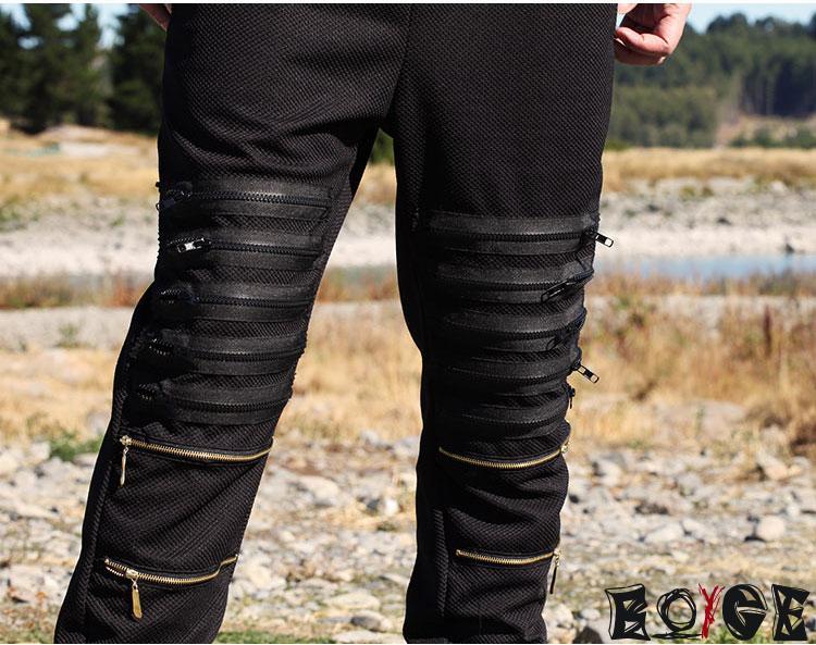 Багги мужчины шаровары на открытом воздухе спорт тренировка хип-хоп хлопок штаны тактический сталкивателем брюки pantalones черный hba