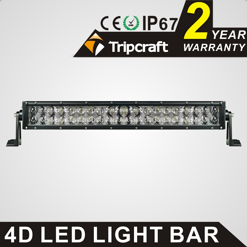 New arrival 120W 4D CREE LED Work Light Bar 12V Spot Flood Combo Car ATV 4X4 Truck Off Road Roof Auxiliary Driving Light(China (Mainland))