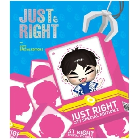 GOT7 SPECIAL EDITION 2 - JUST RIGHT (OUT CASE + FIGURE USB ALBUM)  [JB] VERSION <br>