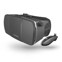 Brand New 1PC Black Plastic Virtual Reality 3D Glasses Oculus Rift VR 3D Google Cardboard Bluetooth Controller Android