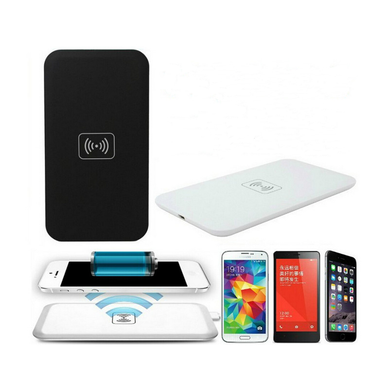 Mobile Phone Qi Wireless Charger Pad with USB Port