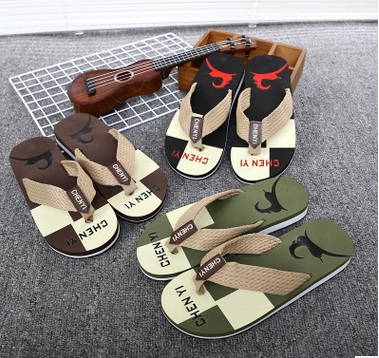 Hombres chanclas casual street style sandals brand male beach comfortable flip flops multi color men's leisure flip flops(China (Mainland))