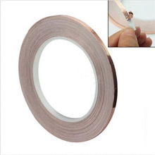 Low Price Personalized 1 Roll 5MM X 30M Single Conductive COPPER FOIL Tape Adhesive(China (Mainland))