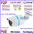 HOT 2MP POE mini ip camera 1080P ONVIF 2 4 cctv outdoor camera IMX322 Sensor IP66