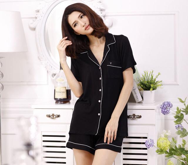 8 цвета лето мягкая удобная свободного покроя домашняя одежда, Pijama женщины, Пижамы ...