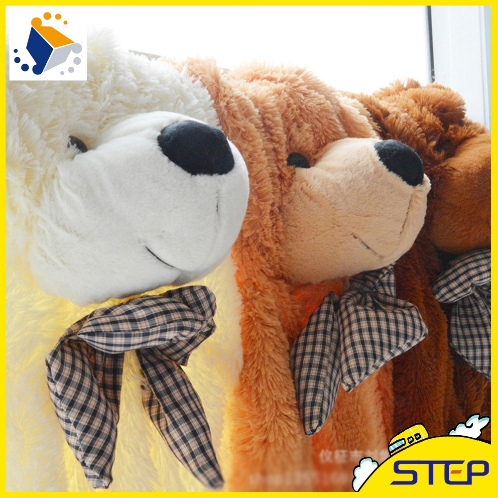 "Free Shipping 160cm/63"" inch Teddy Bear Skins Plush Toys Semi-Finished Bear Skins Multicolors Wholesale ST074(China (Mainland))"