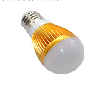 3W 12V AC/DC E14 LED lamp Globe Bulb Golden High Power spot Light down lights Lighting 6Color LB35(China (Mainland))