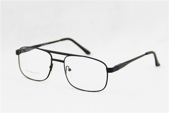 Fashion Men Women Metal Frame Reading Glasses Clear Lens Spring Hinges Reading Glasses Diopter +1.0-+3.5 Gold/Black