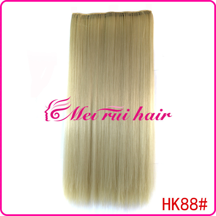 Yiwu 5s-88# Supply A Five Card Chip Hair Wig Hair Piece Spot Wholesale Distribution(China (Mainland))