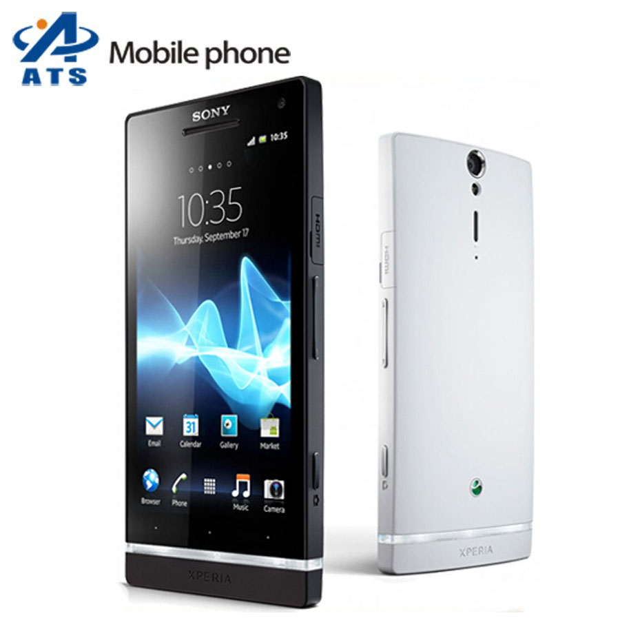 """Original Sony Xperia S LT26i Mobile Phone 4.3""""Touch screen Dual-core lt26 cell phone 12MP WIFI GPS 32GB Storage(China (Mainland))"""