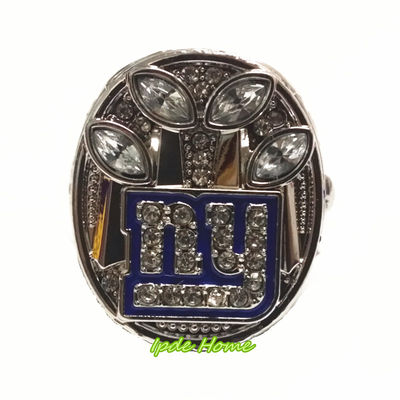 Factory Price 2011 Super Bowl New York Giants Championship Ring Replica Drop Shipping(China (Mainland))
