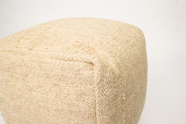 light beige muse pouf modern design indian bench(China (Mainland))