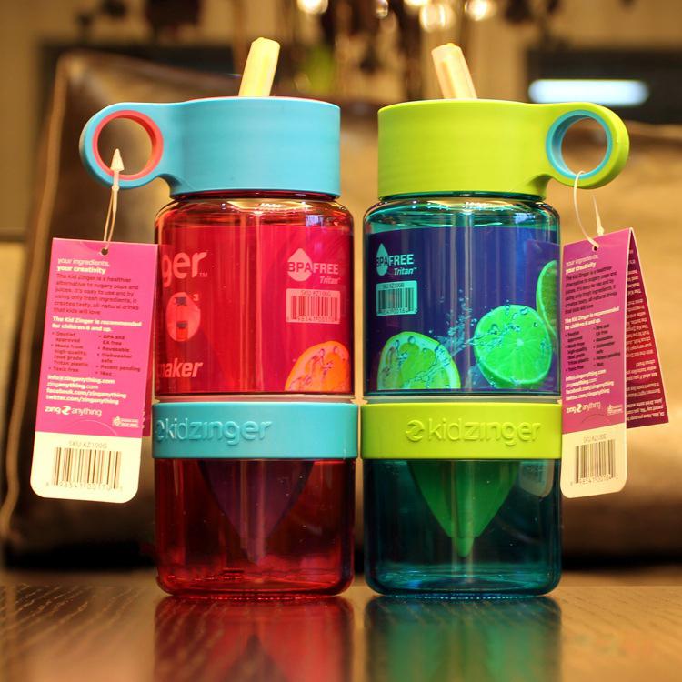 Student kids baby juice source citrus citrous lemon water bottle lemon cup space cup sports bottle