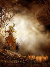 200cm*150cm photography background Falling tenderly human bones pumpkin halloween backdrop backgrounds for photo studio WSJ-047