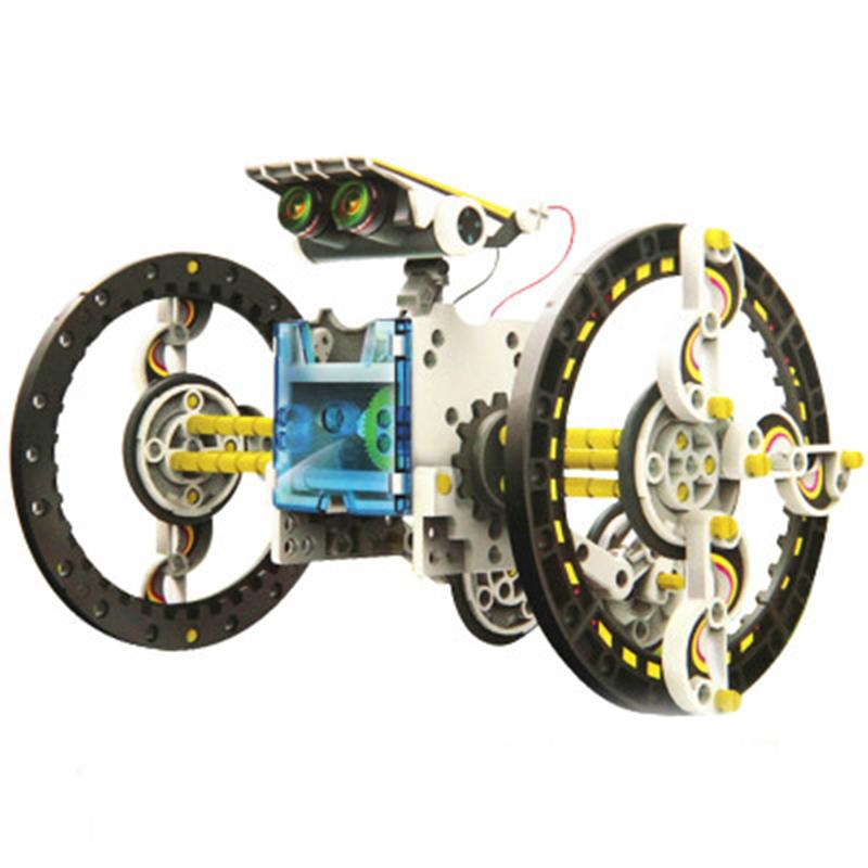 2016 New Solar Robot Kit Educational Solar Power Robots DIY Toy Assembled Toys For Education Kid Car Boat Animal DIY Robot Gift(China (Mainland))