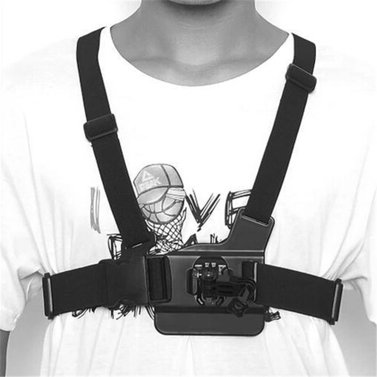 Gopro Accessories Chest Belt + head strap mount + handle monopod For SJ4000 Gopro Hero Camera 2 3 3+ 4 xiaomi yi xiaoyi AEE