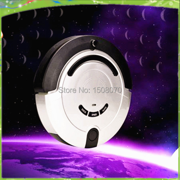 Free shipping-2014 upgrade full automatic house hold vacuum cleaner robot(China (Mainland))