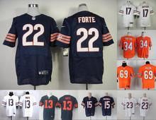 A+++ all stitched Chicago Bears #34 Walter Payton 17 Alshon Jeffery 22 Matt Forte 13 Kevin White,camouflage(China (Mainland))