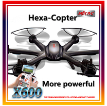 New MJX X600 RC Quadcopter Toy 2.4G 4CH 6-Axis Remote Control FPV WiFi Drone Hexacopter without Camera RC Helicopter UFO 2 Color