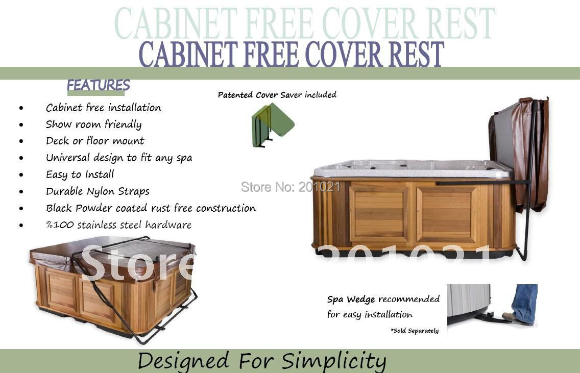 Spa Cover lifter CABINET FREE COVER REST w/Saver(Hong Kong)