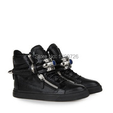 Silver metal high help shoes gz tide restoring ancient ways with blue stones casual shoes free shipping(China (Mainland))