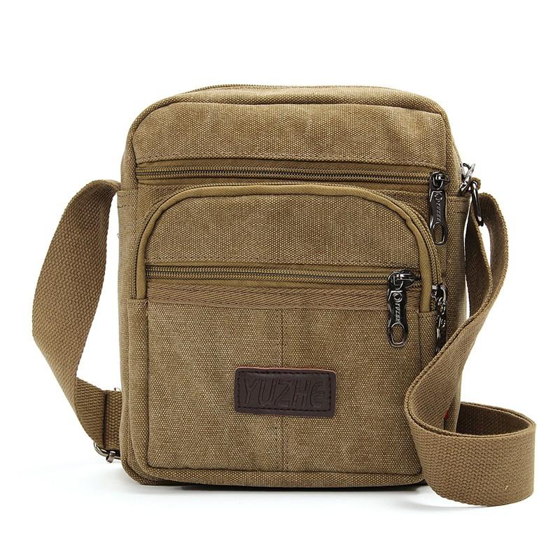 Mens Shoulder Crossbody Bags New Multifunction Male Travel Small Handbags Zipper Solid 4 Colors Casual Messenger Bag<br><br>Aliexpress
