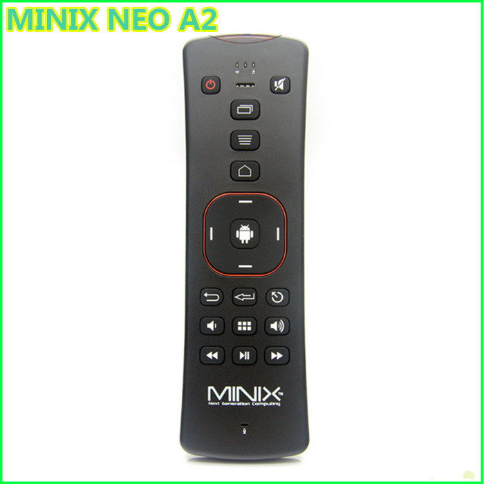 MINIX NEO A2 2.4G Wireless keyboard gyroscope remote control with Speaker& Microphone for skype for android tv box/tablet PC(China (Mainland))